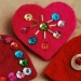 Broches en coeur