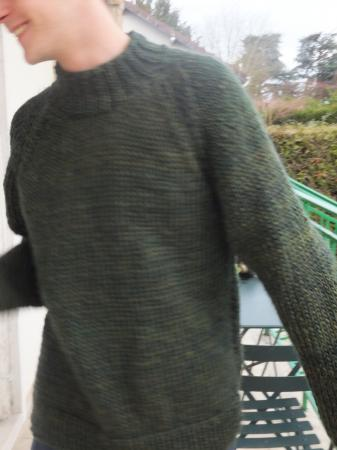 Pull pour hiver froid